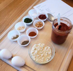 ingredients for paleo meatloaf