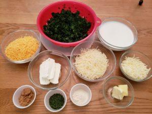 Creamy Spinach Cheese Bake