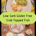 Crab Topped Fish