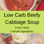 Low Carb Beefy Cabbage Soup