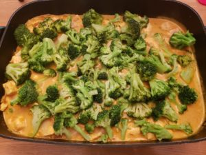 Thai Curried Chicken with Broccoli