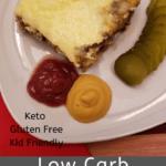 Low Carb Hamburger Pie