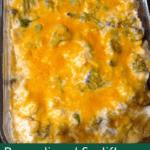 Broccoli and Cauliflower Cheesy Bake