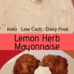 Lemon Herb Mayonnaise