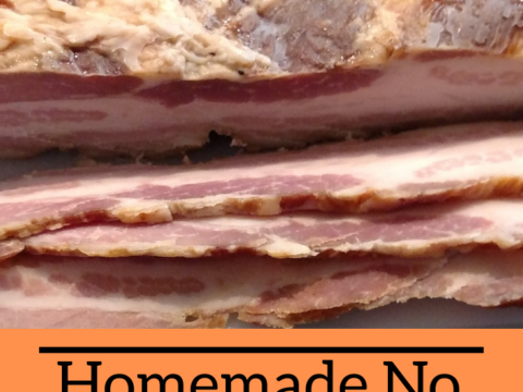 Homemade No Nitrates Low Sugar Bacon