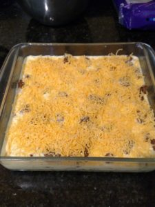 Low Carb Taco Pie