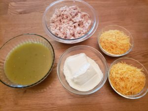 ingredients for chicken enchilada casserole