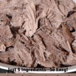 Crock Pot Cooked Fresh Ham