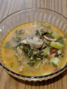 Healthy Pork Curry Vegetable Soup