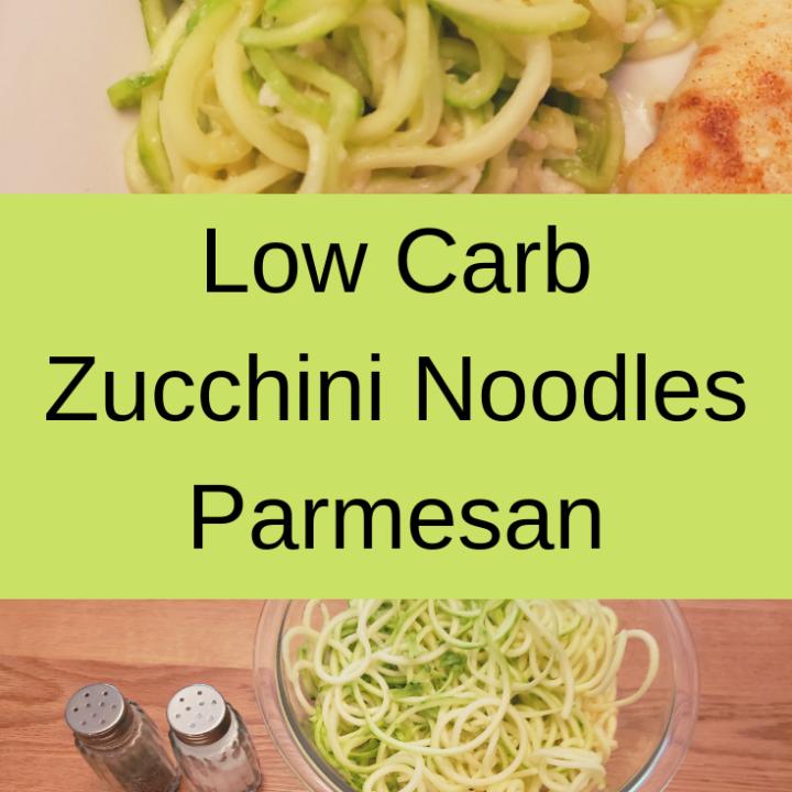 Zucchini Noodles Parmesan
