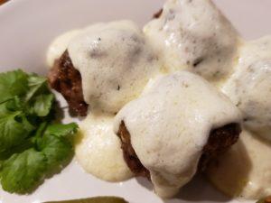 Easy Homemade Alfredo Sauce over 3 ingredients Keto Crock pot meatballs