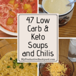Low Carb & Keto Soups and Chilis collage