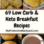 Low Carb & Keto Breakfasts collage
