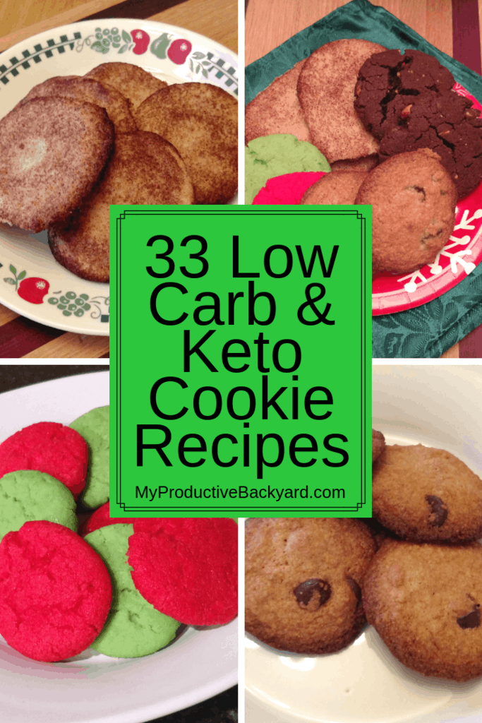 33 Low Carb Keto Cookie Recipes collage