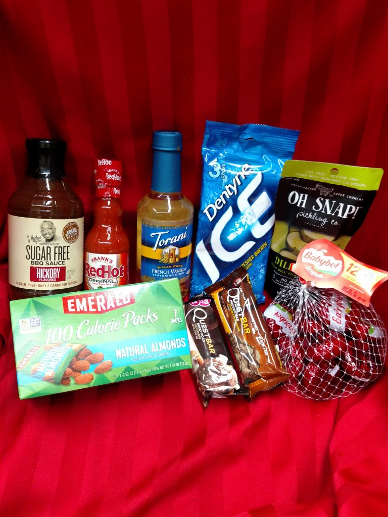 low carb snacks and condiments for stocking stuffers