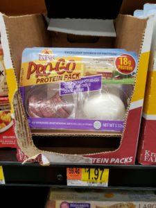 Kramer Farms Pro Go Protein Pack on store shelf