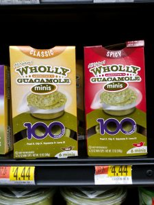 wholly guacamole packages in store