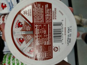 The Laughing Cow cheese Label