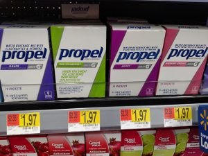 Propel packets in store