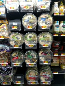 ready made salads in store