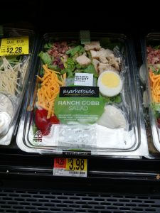 Ranch Cobb salad in store