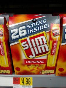 Slim Jim in store