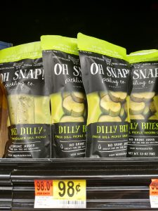 Oh Snap! Pickles in store