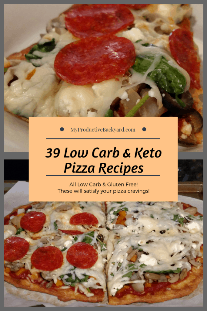 Low Carb Keto Pizza Recipes collage