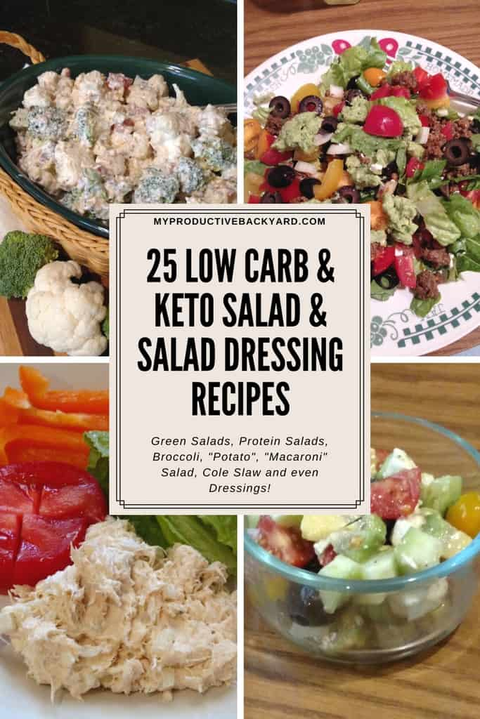 Best low carb salad dressing options