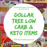 Dollar Tree Low Carb Keto Items