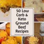 ground beef recipes collage