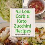 zucchini recipes collage