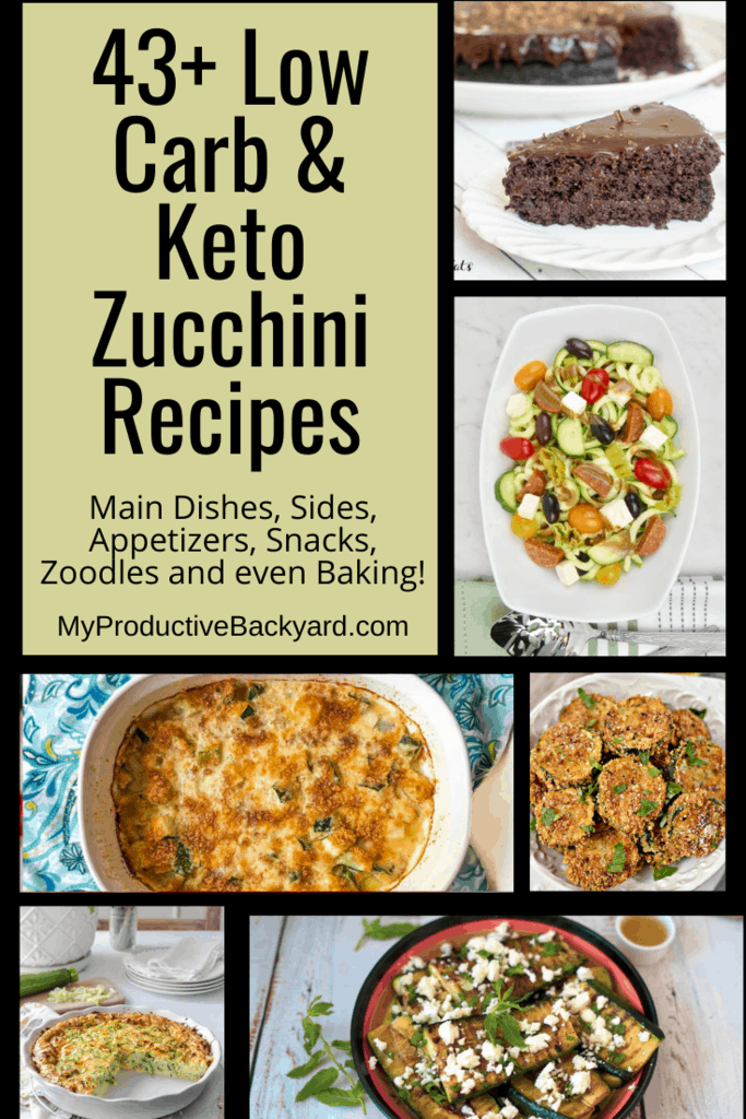43 Low Carb Keto Zucchini Recipes Pinterest Pin