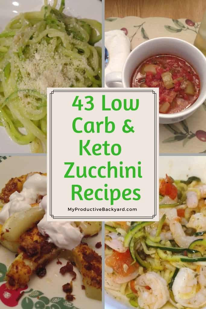 43 Low Carb Keto Zucchini Recipes