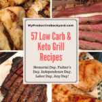 57 Low Carb Keto Grill Recipes collage