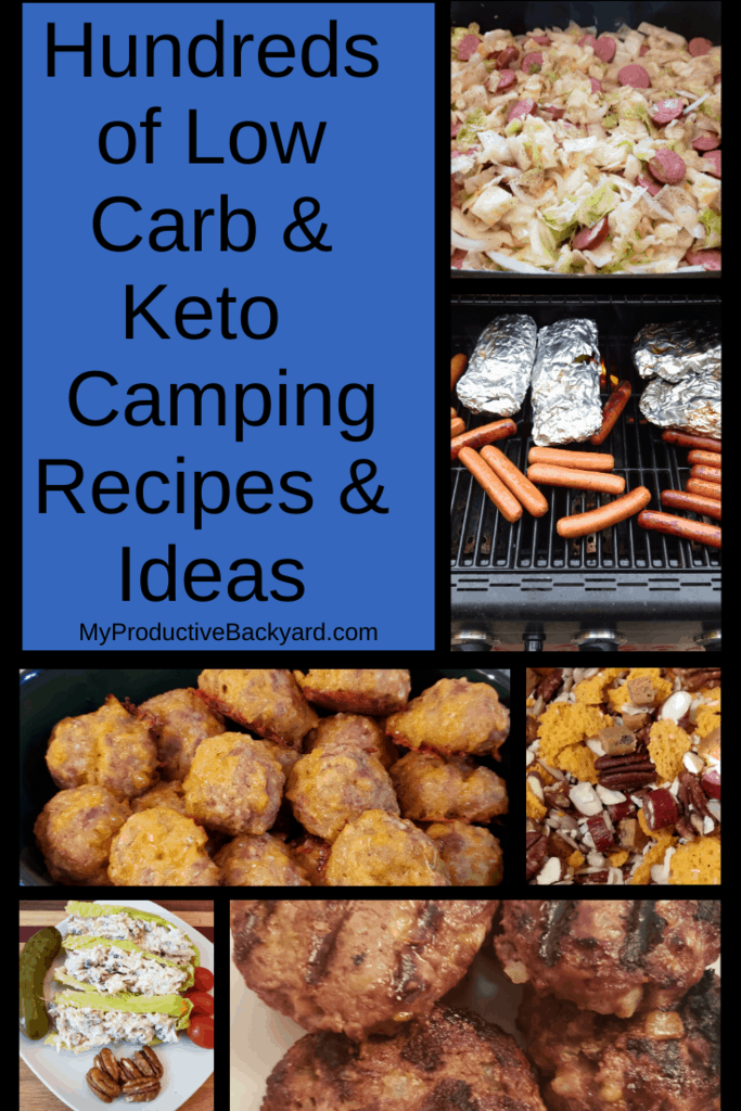 Hundreds of Low Carb Keto Camping Recipes and Ideas collage