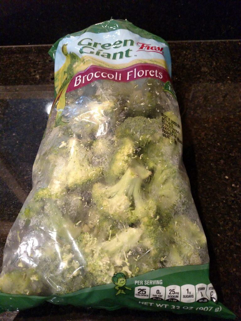 bag of green giant broccoli