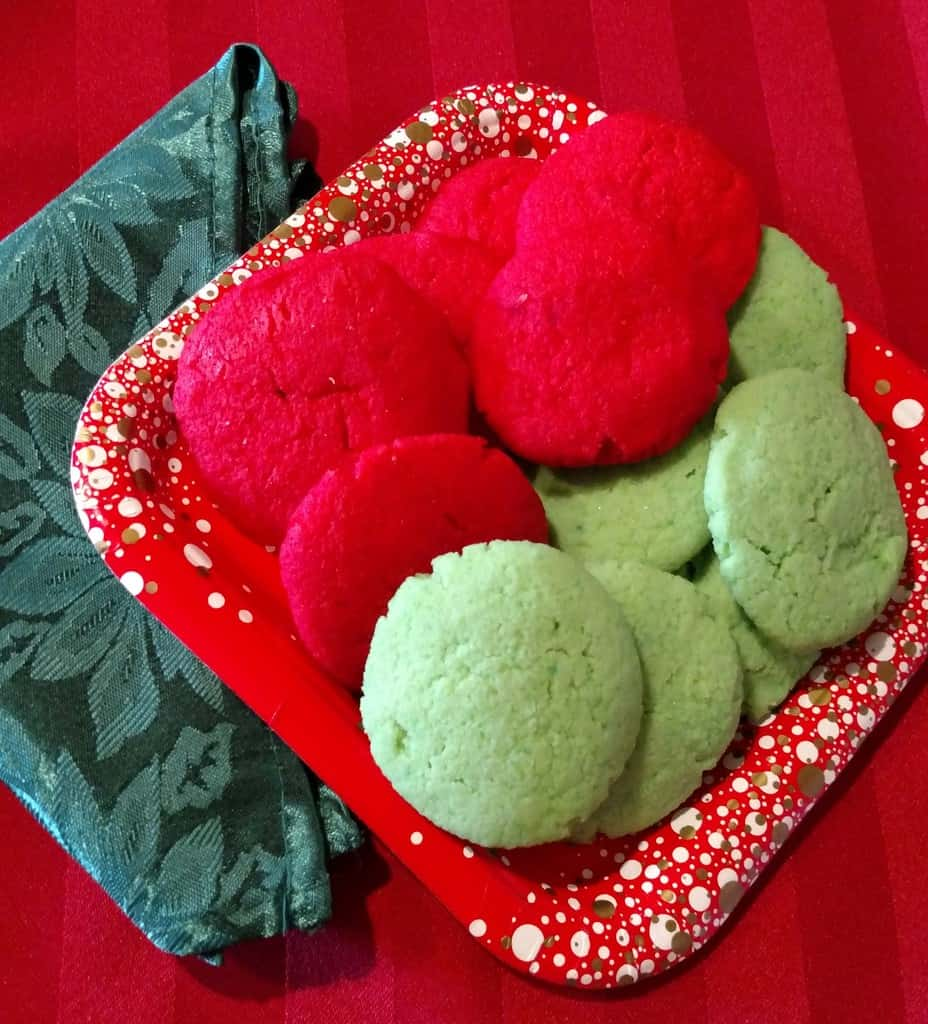 One Net Carb Soft Jello Holiday Cookies