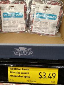Appleton Farms Bite Size Salami Original