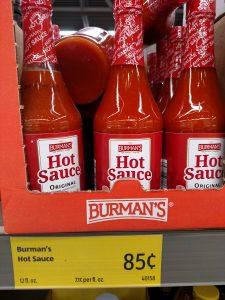 Burman's Hot Sauce