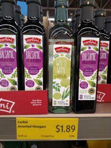 Carlini White Wine or Balsamic Vinegar