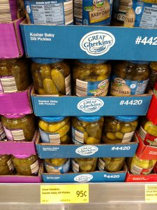 Great Gherkins Kosher Baby Dill Pickles
