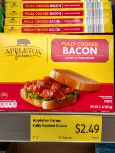 Appleton Farms Fully Cooked Bacon