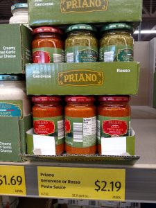 Priano Genovese Sauce and Rosso Pesto Sauce