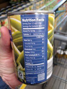Happy Harvest Cut Green Beans label