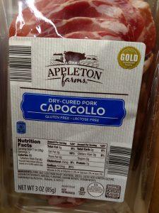 Appleton Farms Capocollo label