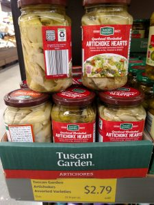 Tuscan Garden Artichokes