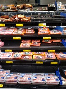 pork section of store