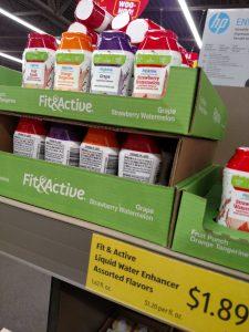 Fit & Active Liquid Water Enhancers Assorted Flavors
