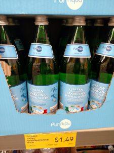 PurAqua Italian Sparkling Mineral Water